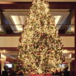 Stock Photo: Christmas tree in lobby