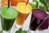 Sağlıklı meyve suları — Stok fotoğraf