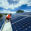 Solar panel installation — Stock Photo #22946038