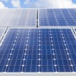 Solar panel installation - Stock Photo