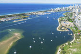 Gold Coast Broadwater — Stock Photo