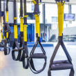 Suspension training — 图库照片
