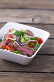 Thai beef salad — Stock Photo