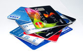 Charge card — Stock Photo