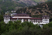 Government building in Timphu in Bhutan — Stock Photo