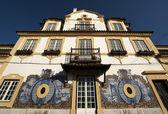 Facade of Jose Maria da Fonseca vinhos winery in Azeitão - Portugal — Stock Photo
