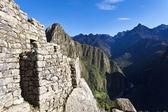 Ruinen der alten verlorene inka stadt machu picchu in peru - südamerika — Stockfoto