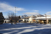 Snow in Tafi del Valle - Tucuman Province - North Argentina — Stock Photo