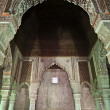 Stok fotoğraf: Interior of SaadiTombs (Moorish architecture) in Marrakesh, Central Morocco