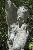 Statue of a naked woman in a park in Lisbon - Portugal — Foto de Stock
