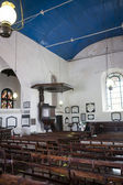 Interior of the Groote Kerk (Dutch Reformed Church - VOC) in Galle Fort - South Sri Lanka — Stock Photo