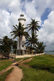 Lighthouse at Point Utrecht Bastion in Galle Fort - South Sri Lanka — Stock Photo