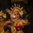 Stock Photo: Balinese dance in local Hindu temple in Bali - Indonesia