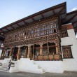 Inside the Trashi Chhoe Dzong in Thimphu, the capital of the Royal Kingdom of Bhutan, Asia — Stock Photo #41711567