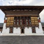 Inside the Trashi Chhoe Dzong in Thimphu, the capital of the Royal Kingdom of Bhutan, Asia — Stock Photo #41712325
