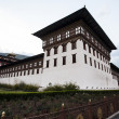 Inside the Trashi Chhoe Dzong in Thimphu, the capital of the Royal Kingdom of Bhutan, Asia — Stock Photo #41712403