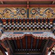 Inside the Trashi Chhoe Dzong in Thimphu, the capital of the Royal Kingdom of Bhutan, Asia — Stock Photo #41712409