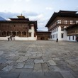 Inside the Trashi Chhoe Dzong in Thimphu, the capital of the Royal Kingdom of Bhutan, Asia — Stock Photo #41712411