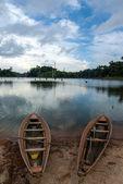 Brokopondo stuwmeer reservoir in Suriname - South America — ストック写真