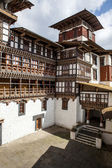 Interior of Trongsa Dzong monastery in Central Bhutan - Asia — Stock Photo