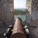 Spanish colonial fortress Castillo de San Pedro de la Roca del Morro in Santiago de Cuba, Cuba, North America — Stock Photo #46173383