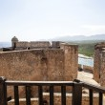 Spanish colonial fortress Castillo de San Pedro de la Roca del Morro in Santiago de Cuba, Cuba, North America — Stock Photo #46173395