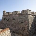 Spanish colonial fortress Castillo de San Pedro de la Roca del Morro in Santiago de Cuba, Cuba, North America — Stock Photo #46174129