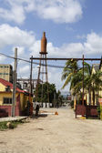 Former Bacardi brewery Hatuey in Santiago de Cuba, Cuba, North America — Stock Photo