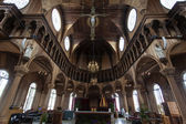 Interior of the St. Petrus and Paulus Cathedral in Paramaibo, Suriname - South America — Stock Photo