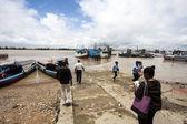 Paramaribo harbour to cross the Suriname River - Surinam - South America — Stockfoto