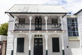 Old house in the center of Paramaribo - Suriname - South America — Foto de Stock