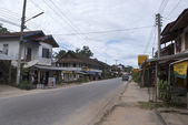 Muang Sing village in Northern Lao Nam Tha Province, Laos, Asia — Stock Photo