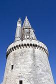 Tour de la Lanterne tower in the old center of La Rochelle - Charente-Maritime in France — Stockfoto