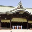 Shinto Temple With Priests — Foto Stock
