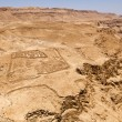 Roman Fort At Masada - Stock Photo