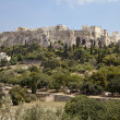 Acropolis From The Athens Agora — Stock Photo