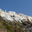 View Of Thera On Santorini - Stock Photo