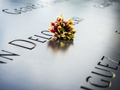 Flowers In Remembrance — Stock Photo