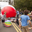 Stock Photo: Audience Participation In Fremont Parade