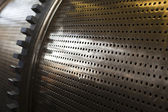 Metal Cylinder With Holes — Stock Photo