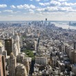 Greenwich Village And Downtown Manhattan - Stock Photo