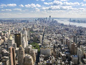 Greenwich Village And Downtown Manhattan — Stock Photo