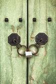 Korean Door Detail — Stock Photo