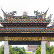 Gate To MengjiLongshTemple — Stock Photo #19969077