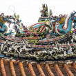 Roof of Mengjia Lonshan Temple - Stock Photo