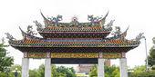 Gate To Mengjia Longshan Temple — Stock Photo