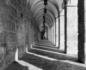 Temple Mount Corridor — Stock Photo