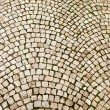 Stock Photo: Cobblestone Pattern On Czech Street