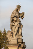 Statue of St. Ludmilla of Bohemia — Stock Photo