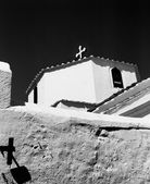 Lindos Church With Two Crosses — Stock Photo